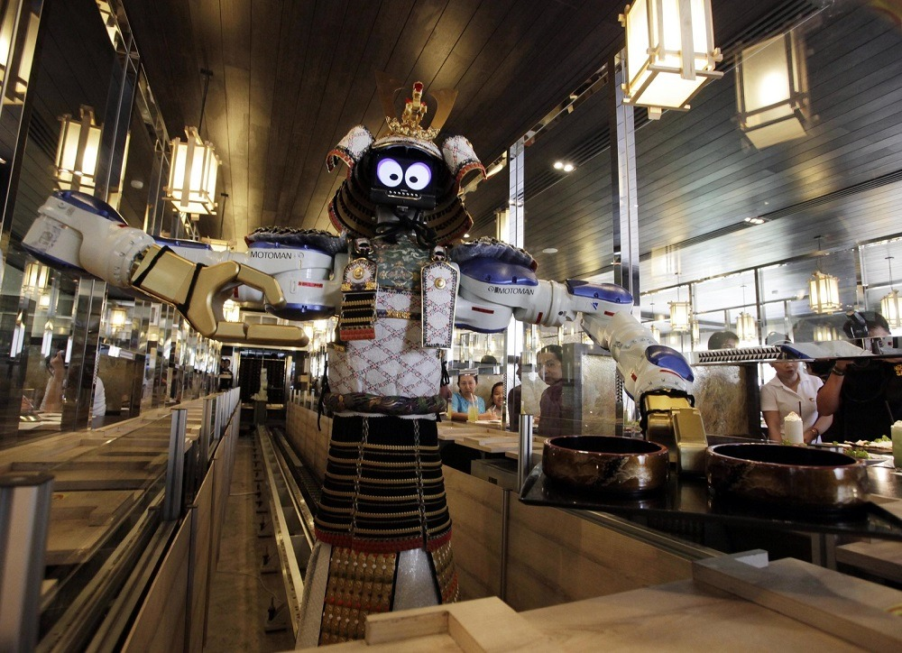 Официант - робот