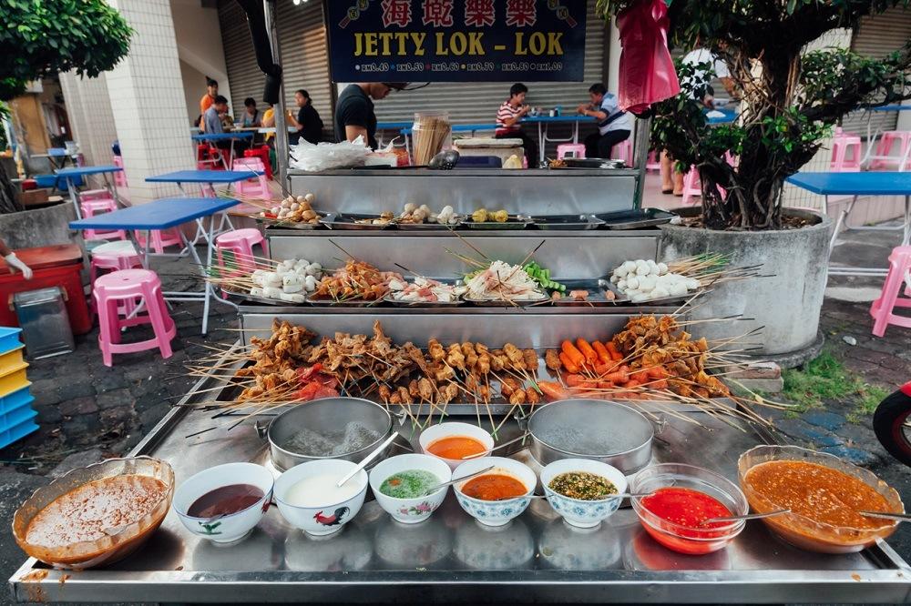 Уличная еда в Джорджтауне