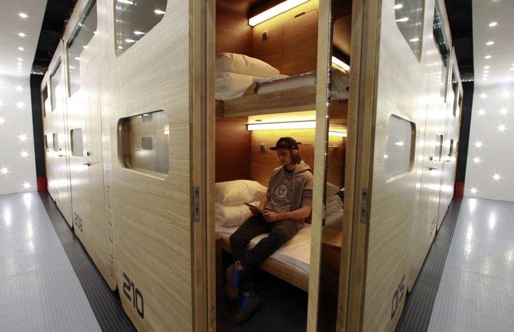 Sleepbox hotel Москва
