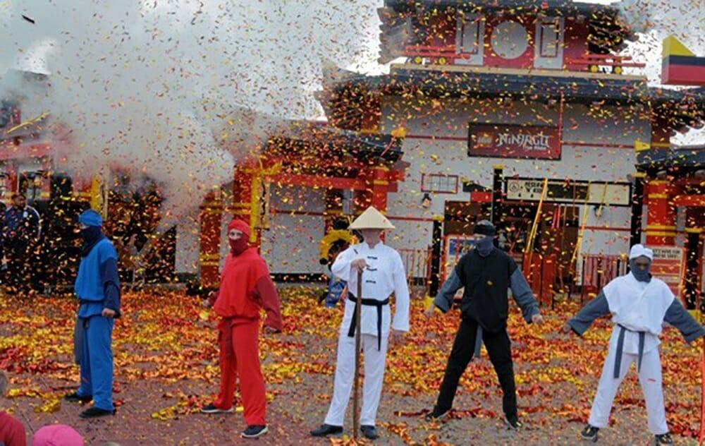 Ninjago World откроется в Legoland Калифорния