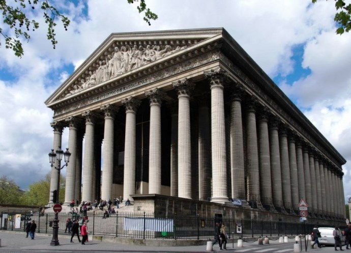 Европа во всей красе церковь Мадлен в Париже 2
