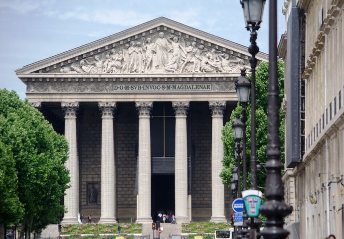 Европа во всей красе церковь Мадлен в Париже 4