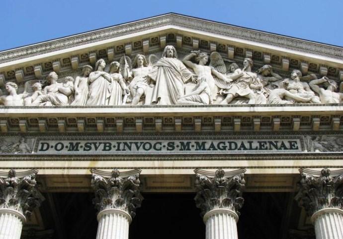 Европа во всей красе церковь Мадлен в Париже 5