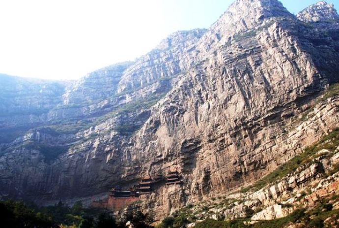 Интересные места Азии Висячий монастырь Сюанькун-Сы 3