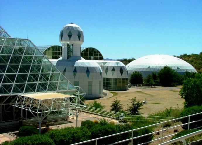 Интересные места Америки проект Биосфера 2 США 2