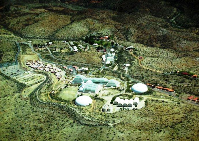 Интересные места Америки проект Биосфера 2 США 4