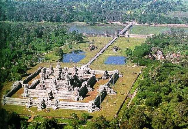 Энергия вселенной в храме Ангкор Ват