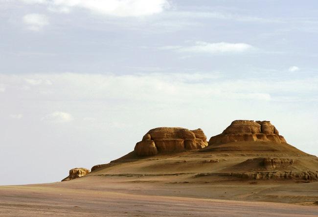 В окружении Ливийской пустыни  город Файюм 4