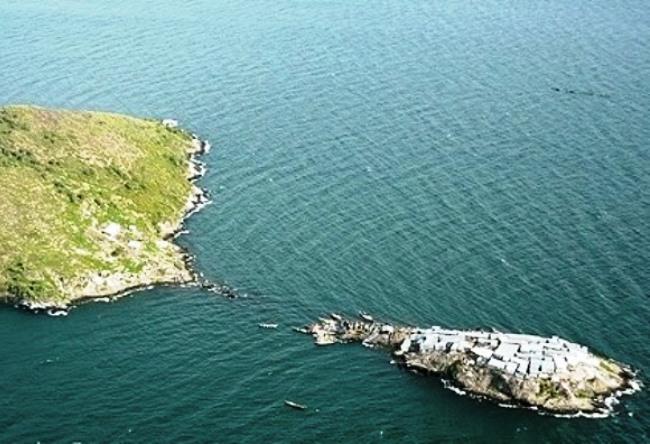 Спорный остров Мгинго 4