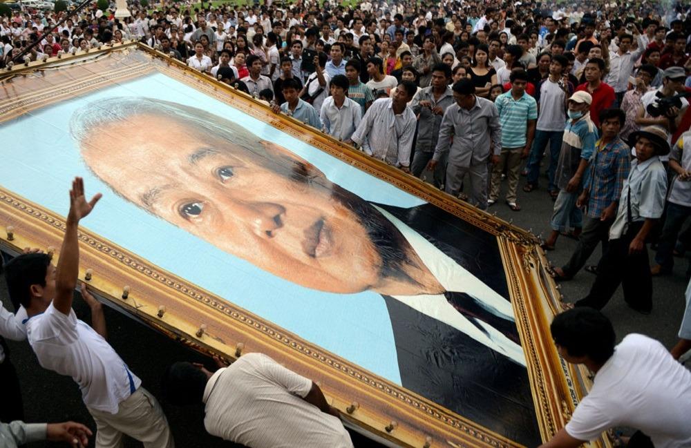 Похороны, Камбоджа