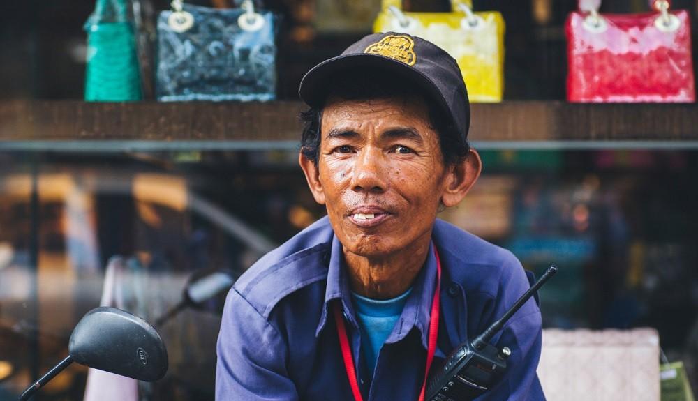 Житель Камбоджи