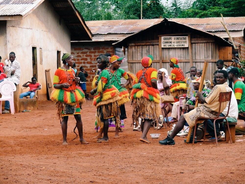 Камерунская деревня