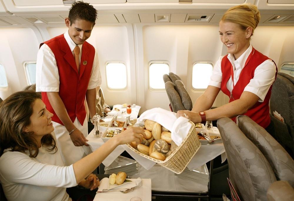 Экзотика в меню авиакомпаний