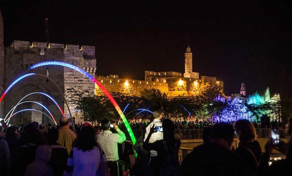 Иерусалим принимает десятый фестиваль света
