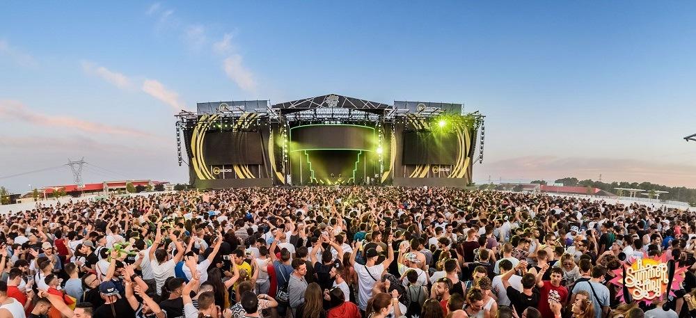 Летний фестиваль музыки под Мадридом