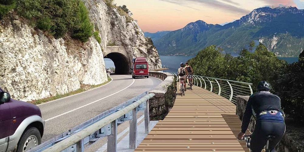 Так будет выглядеть велосипедная дорога