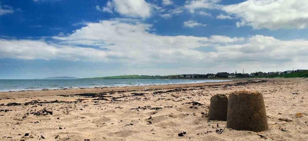 Скеррис пляж