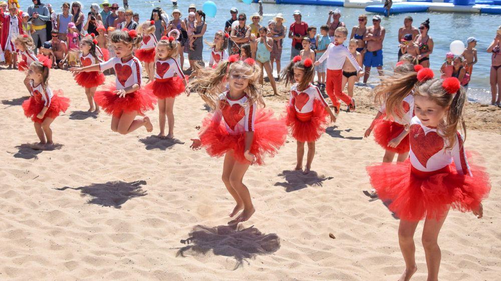 Детский пляж в Крыму