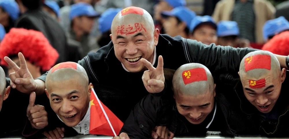 Китайские фанаты