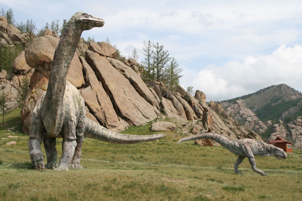 Парк динозавров Монголия