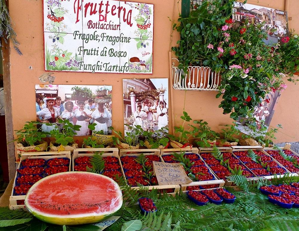 Праздник клубники в Италии