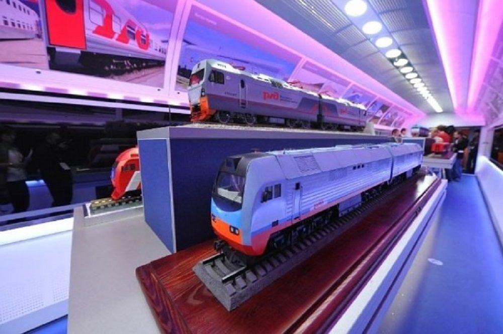 Поезд-музей курсирует по Тульской Области