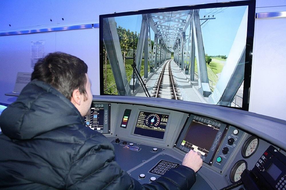 Тренажёр по управлению поездом