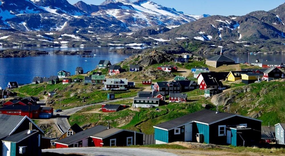 Город Гренландии