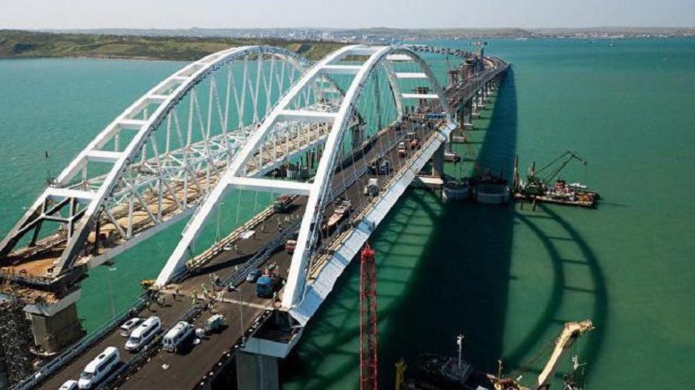 Крымский мост открылся