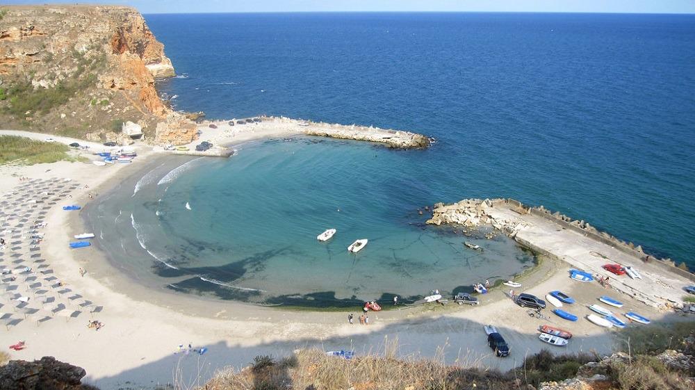 Болгария пляж