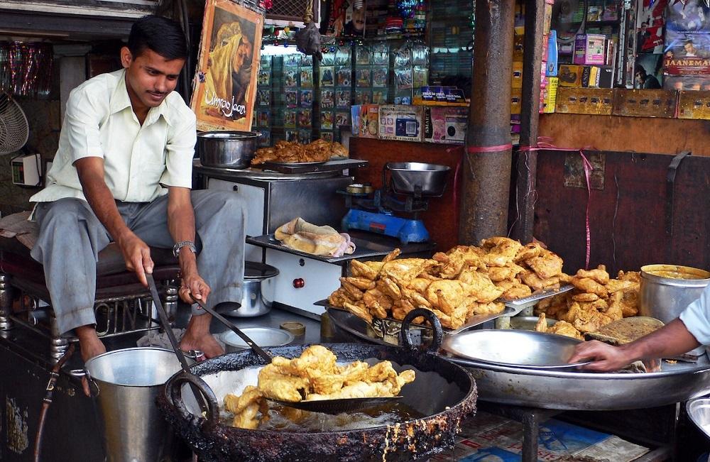 Уличная еда в Мумбаи