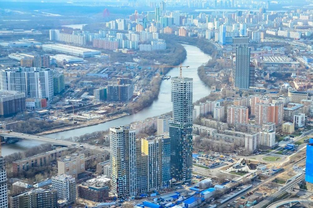 В Москве открылась самая высокая в Европе смотровая площадка
