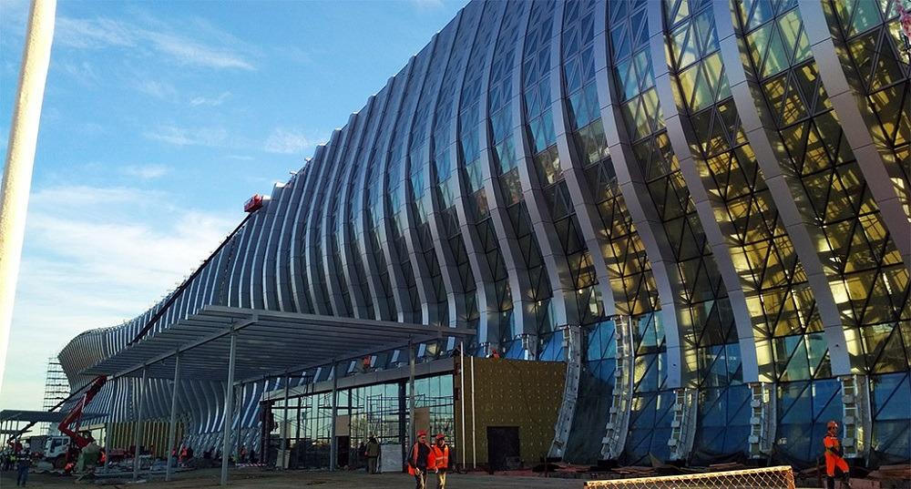Симферополь новый терминал