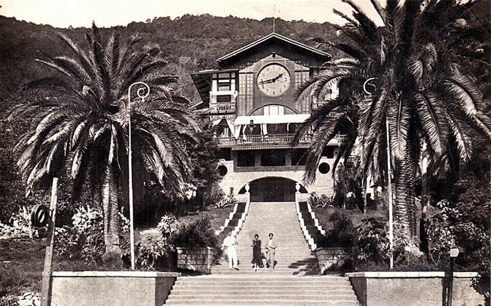 Ресторан Гагрипш старое фото