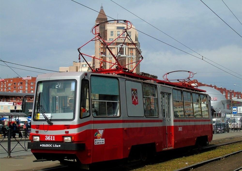 Трамвай Петербурга