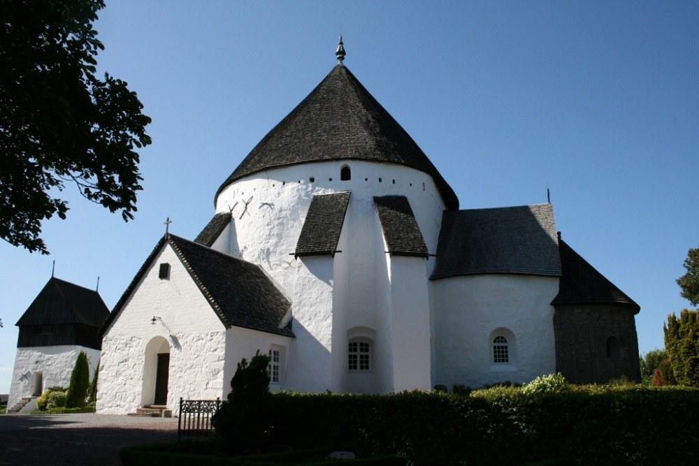 Церковь на острове Борнхольм