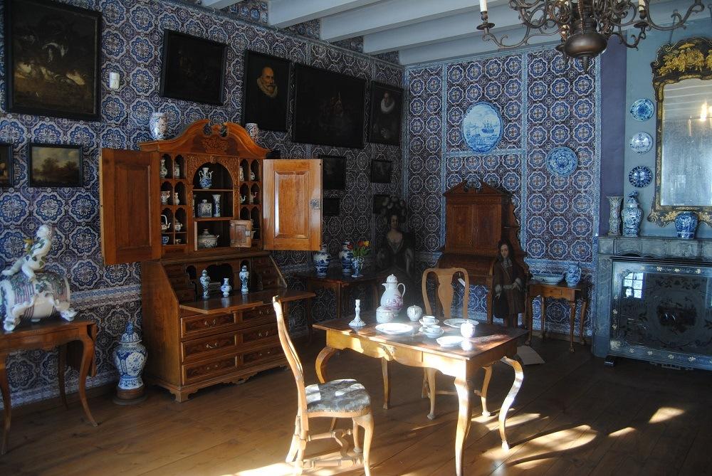 Внутри Голландского домика, Кусково