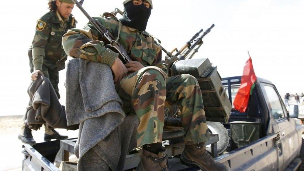 Ливийские военные