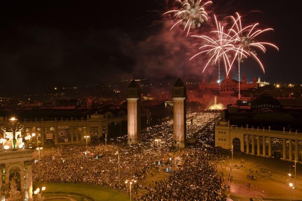 Барселона в Новый год