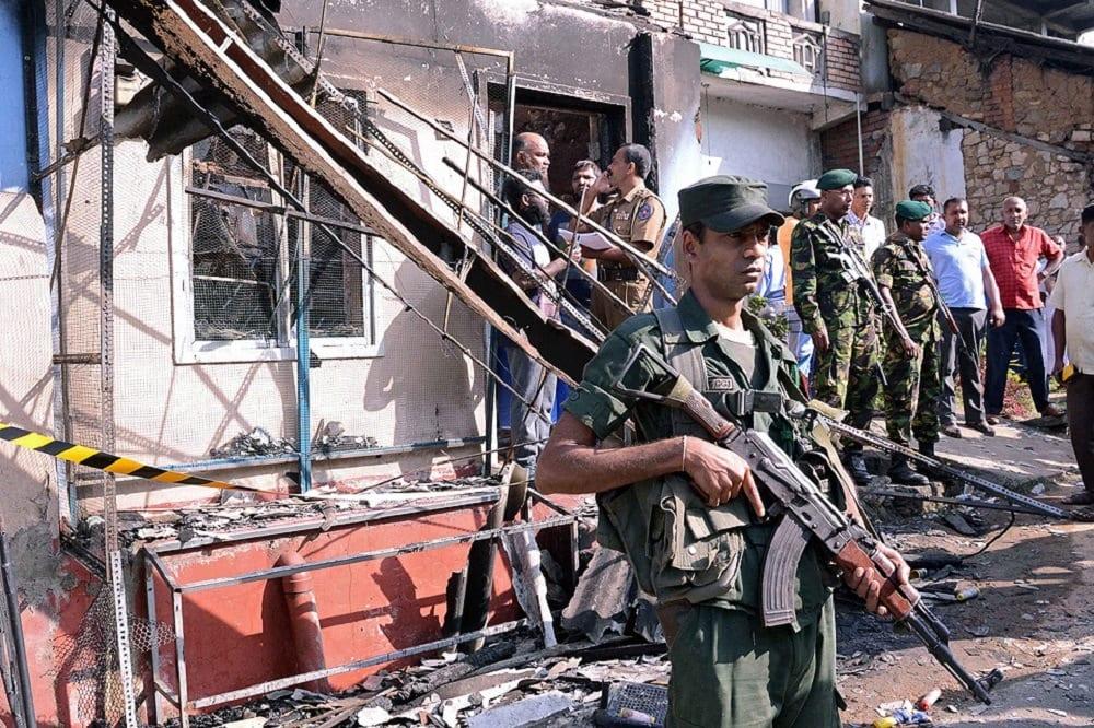 Военные на Шри-Ланке
