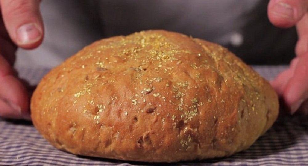 Хлеб с золотом