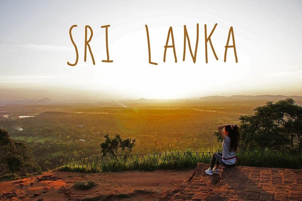 на острове Шри-Ланка
