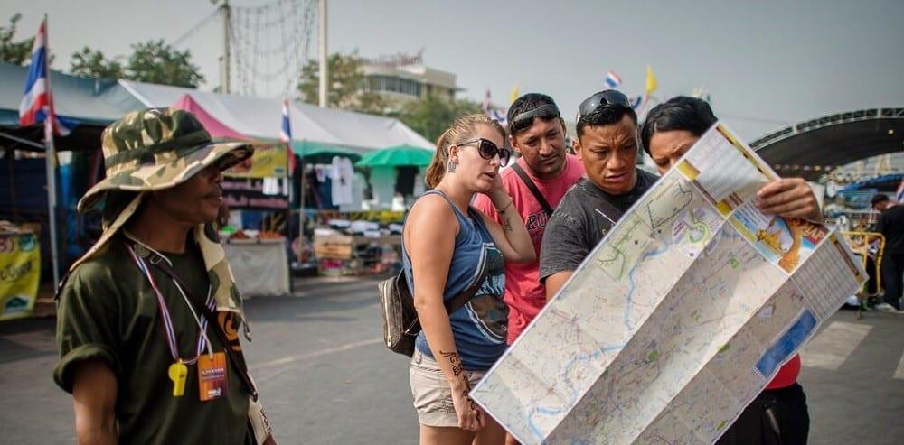 Туристы в Тайланде