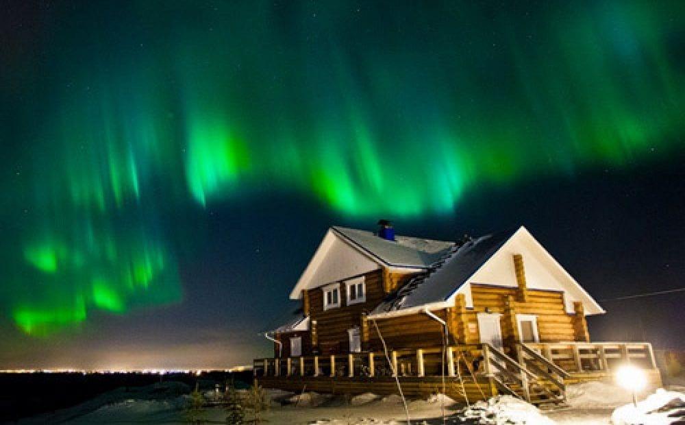Встретить новый год в Лапландии