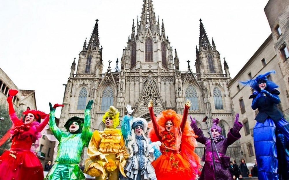 Барселонский праздник
