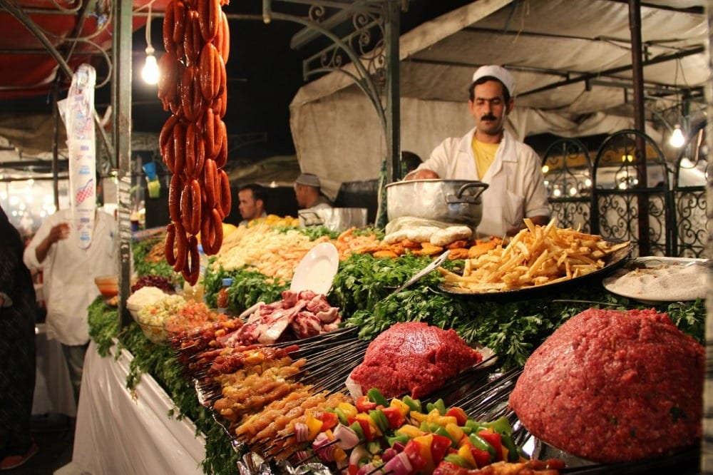 Марракеш рынок