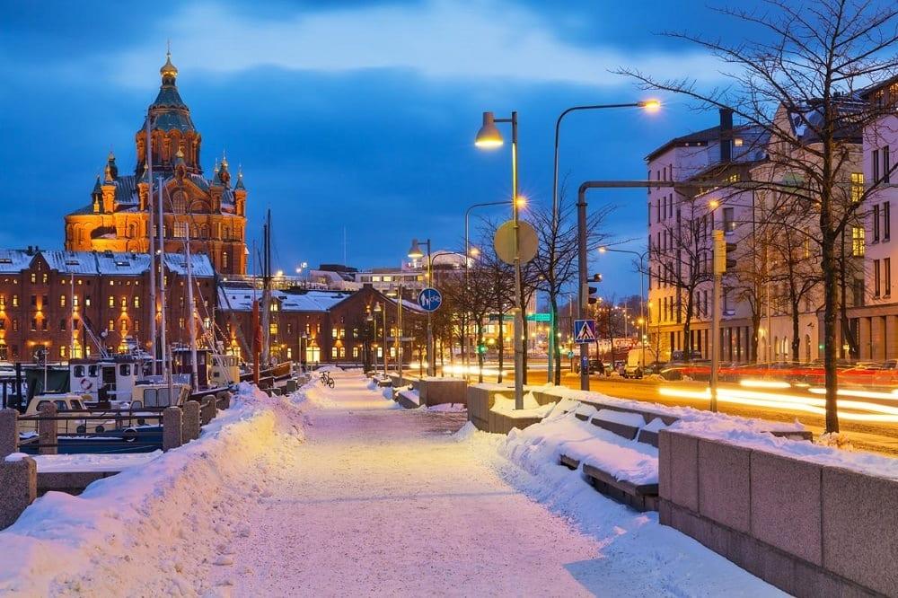 новогодний тур в Хельсинки