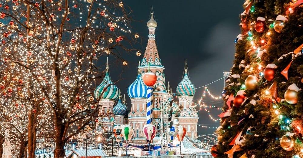 поездка в Москву на Новый Год 2019