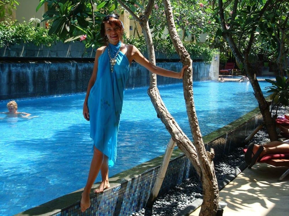 В январе на Бали