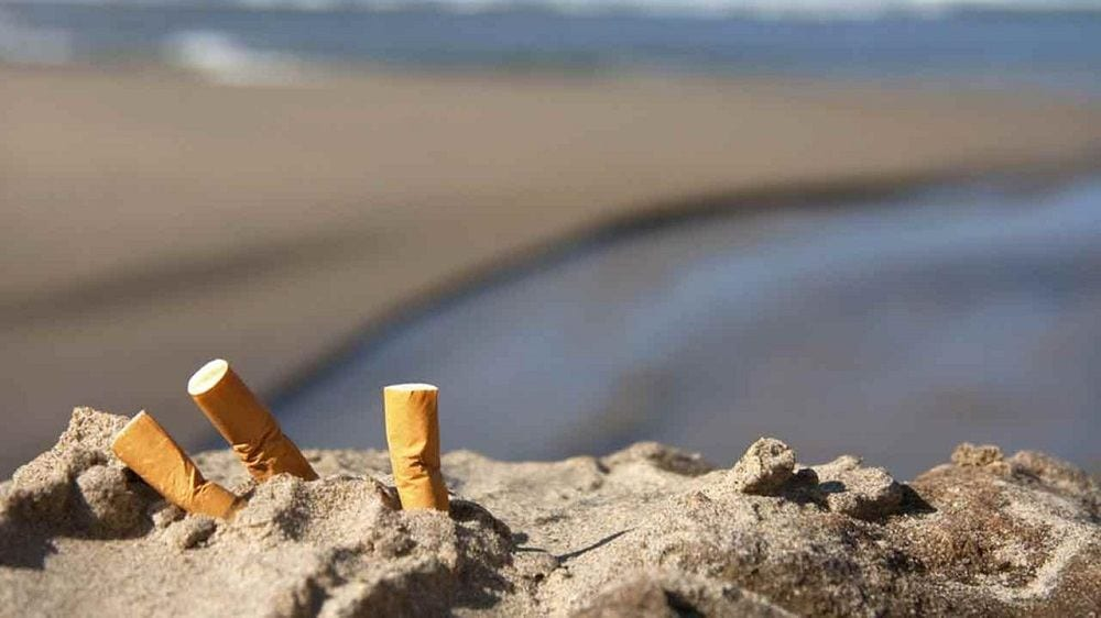Курение пляжи